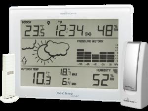 MA 10006 mit Wetterstation und Thermo-/Hygrosensor