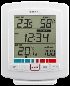 WL 2000 Temperaturstation mit Luftgüteanzeige