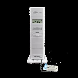 Temperatur- und Luftfeuchtesensor mit zusätzlichem Wasserdetektor MA 10350
